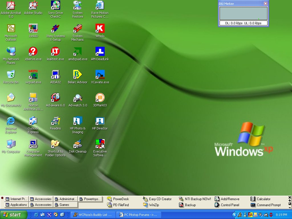 Mat denan empty desktop in windows xp for Windows windows